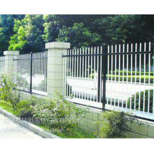 供应热镀锌铁艺栏杆 铁艺围墙 铸铁栏杆价低耐用