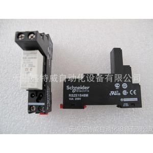 供应施耐德电气 接口型中间继电器 单触点大电流继电器 RSB1A120BD