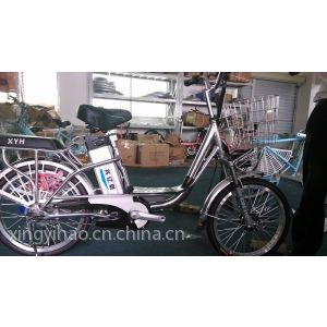 供应48V全铝合金车架锂电动自行车依兰公主,安静快速方便自然超值哦