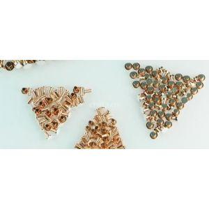 供应银触点、异型触点、三复合触点、高低压电气触头、银合金片材、带材、铜钉、铝钉等五金件