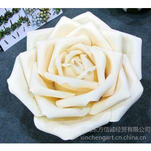 供应EVA大玫瑰花 直径80CM玫瑰花 人造花