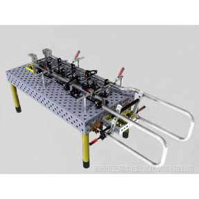 供应翻斗车护栏焊接工装夹具|柔性组合夹具|机器人工装夹具