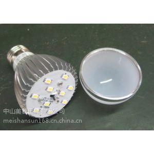 供应中山厂家直销LED 5W车铝球泡灯