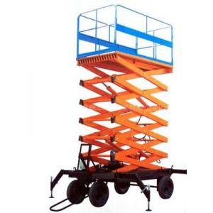供应移动剪叉式升降机,铝合金升降平台,导轨式升降货梯