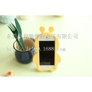 供应工厂直销苹果5手机壳 iphone 小蜜蜂硅胶套 苹果5s卡通保护套