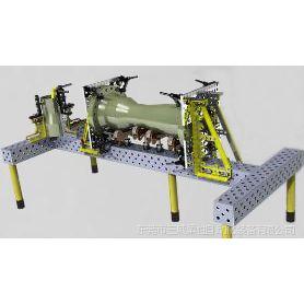 供应管道法兰焊接工装夹具|柔性组合夹具|机器人工装夹具