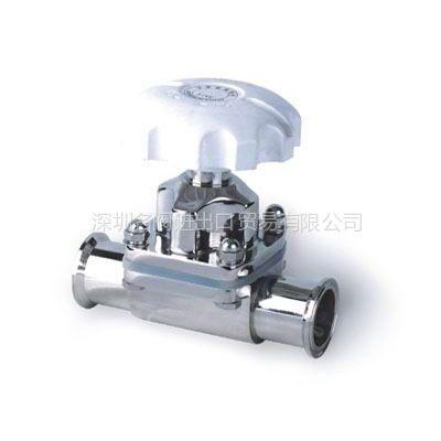 供应进口卫生级隔膜阀 不锈钢304隔膜阀 不锈钢316隔膜阀