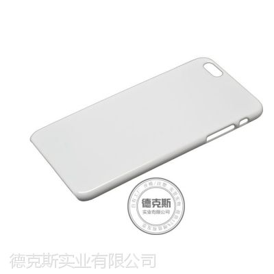 爆款 供应iphone6白色pc保护壳 光面pc素材硬壳