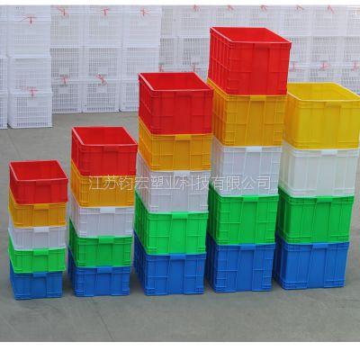 周转箱 常州塑料周转箱 江苏厂家直销575-300塑料周转箱