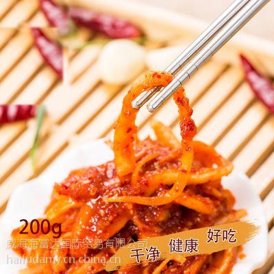 海富达特产韩国泡菜桔梗 朝鲜族风味小菜 下饭菜拌菜小吃200g