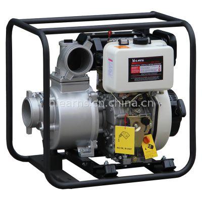 供应4寸柴油水泵DP40, 手启动, 海润水泵