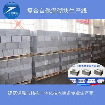 供应七星QX自保温砌块设备--自保温砌块设备生产工艺