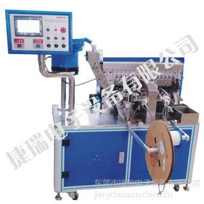供应电子元件穿套管穿铁氟龙成型机