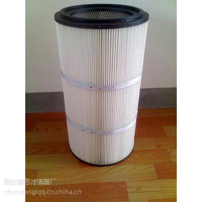 混凝土搅拌站除尘滤芯、集尘箱粉尘滤芯滤筒