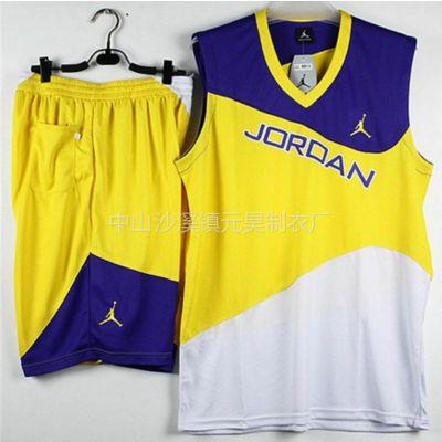 供应厂家批发 球衣 篮球服 篮球衣 球服 nba球衣 训练服 透气吸汗比赛服