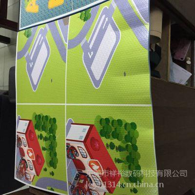 广州EVA儿童地垫数码印刷机,东莞EVA数码喷绘打印机