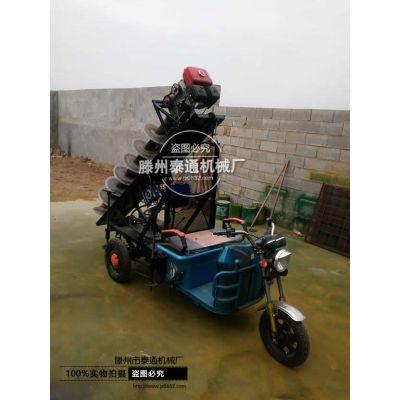 拖拉机植树挖坑机 便携式植树挖坑机 山地挖坑机 山地电线杆挖坑机 电线杆钻眼机