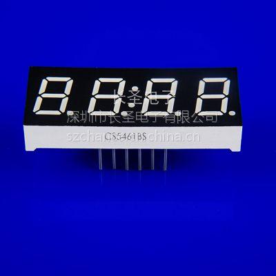 5461AS/BS/AH/BH四位数码管厂家|红色led数码管|led点阵厂家|数码管
