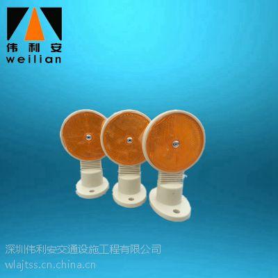 伟利安厂家直销LKB-0999塑料单面圆形轮廓标交通设施