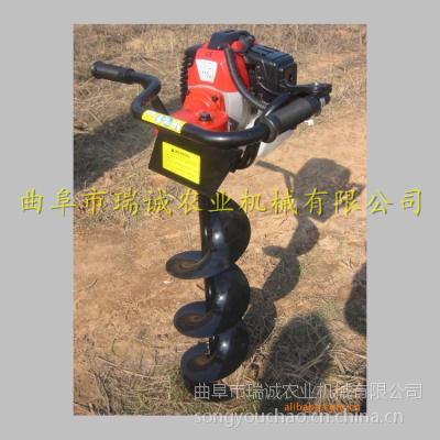 瑞诚A型 原装出售挖坑机 轻便耐用型 植树专用挖坑机