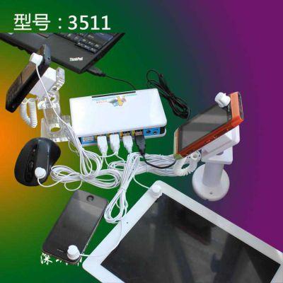 供应一拖多防盗器,笔记本电脑防盗器,多接口防盗器