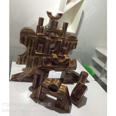 中型碳化积木43件