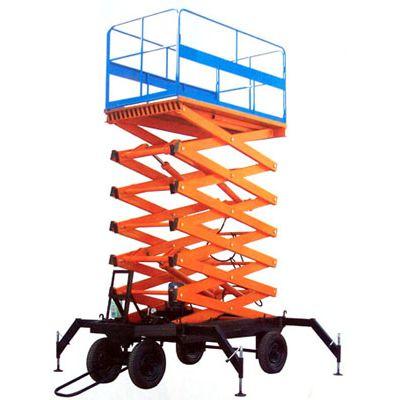 移动剪叉液压升降机 四轮移动式 厂家直销 10米20米多少钱?