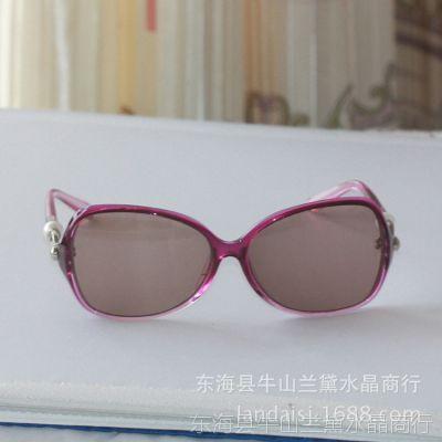 东海水晶偏光太阳镜墨镜风镜批发韩版女款跑江湖热卖新产品特价