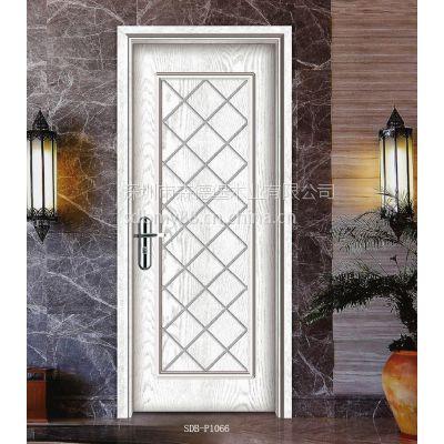 深圳森德堡木门厂专业订制实木复合门开放白烤漆门优质隔音房间门整套门SDB-P1066