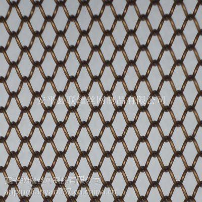 定制个性金属装饰网帘 餐厅阁楼酒店装饰用金属网帘