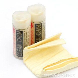 大号鹿皮巾 擦车车毛巾 干发巾擦车布 桶装合成麂皮巾