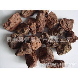 批发河北天然火山石 浮石 多孔石滤料