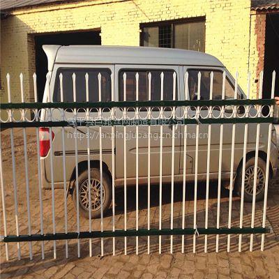 巨邦供应内蒙古优质锌钢围栏生产商 锌合金材质
