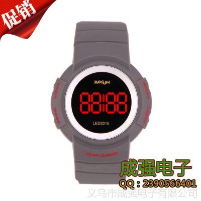 大量现货供应 运动手表 LED防水儿童手表批发 厂家直销
