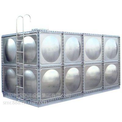 拉伸钢板水箱|中威空调(图)|拉伸钢板水箱模压板