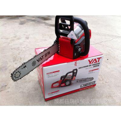 亚特电锯 充电电锯 充电式油锯 无声电锯 园林工具DCS355