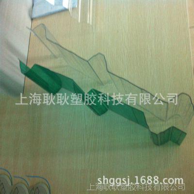 厂家直销pc浪板 2mm聚碳酸酯pc采光浪板 上海pc实心浪板生产厂家
