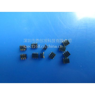 供应排母1.27mm 2*nP smt H:2.0mm