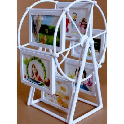 供应国艺相框厂 5寸风车相框 摩天轮相框 儿童影楼相框