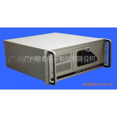 供应4U工控机箱 标准ATX结构 黑、银、工业白三色可选 足1.2MM材料