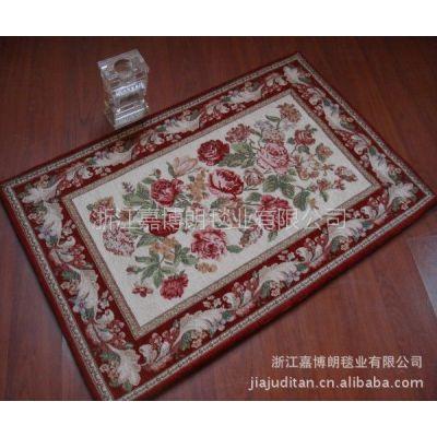 供应中国品牌 中国龙头企业嘉博朗毯业专业生产欧式提花地毯批发