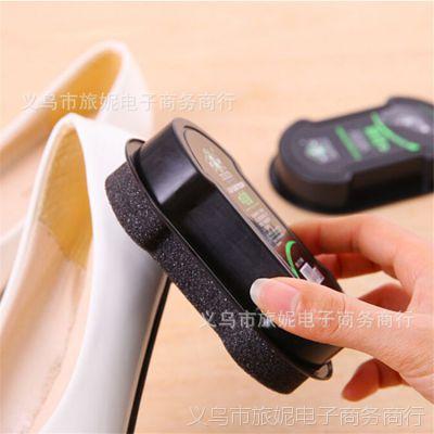多功能海绵鞋擦 增亮鞋擦 皮鞋擦 双面鞋擦海绵擦 鞋刷