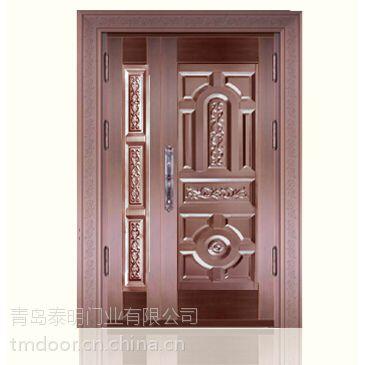 城阳铜门|城阳纯铜门厂|城阳铜门厂家直销-泰明门业
