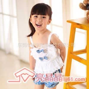 供应亮晶晶童装女童装韩版女童套装 夏装
