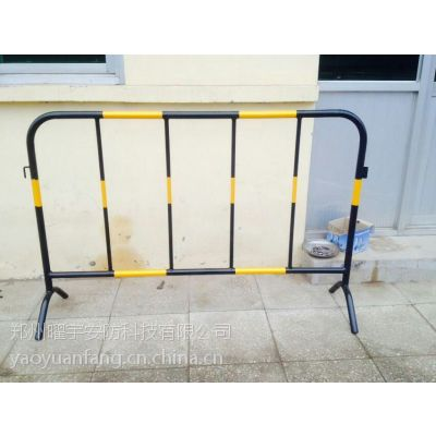 yyaf周口哪有卖铁马护栏 定做活动围挡护栏厂家18737199188