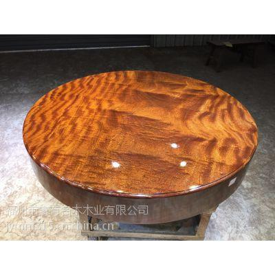 家有名木供应非洲巴西花梨巴花大板简约餐桌原木办公家具老板桌班台实木大板茶桌书桌原木简约家具
