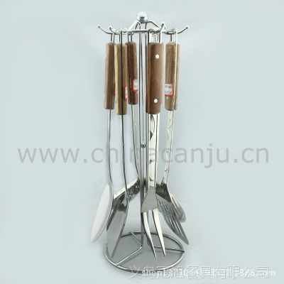 【厂家特惠】不锈钢厨具 钢柄厨具6件套  不锈钢餐具 厨具套装