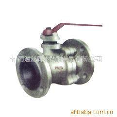 批发供应不锈钢二片式法兰球阀,方形球阀,V型球阀等