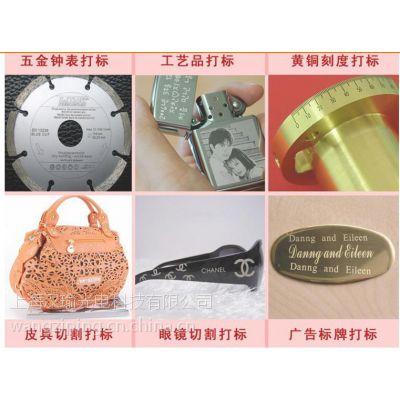 上海汉瑜光电 金山区陶瓷产品印字 塑料材质刻字机 镀层产品雕刻机 上海激光打标机