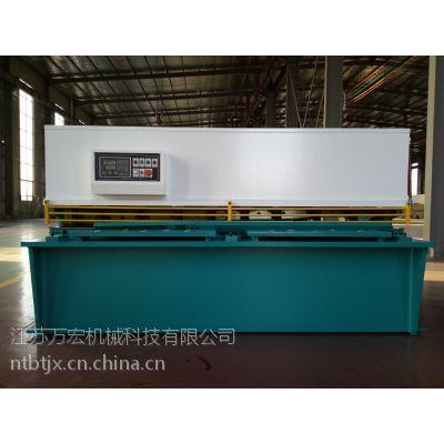 小型剪板机 QC12Y-6X2500 液压摆式剪板机裁板机 剪板、折弯老厂家